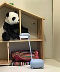 Дитяча настільна LED лампа NOUS S4 Blue 4W 2700-6500K з акумулятором, фото 9