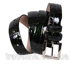 Женский узкий ремень Dovhani 49220-1638 115 см Темно-Зеленый, фото 3