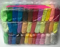 Масса для лепки №6636 36цветов 11г +3стека, в пакете 540г (цена за 1цвет)