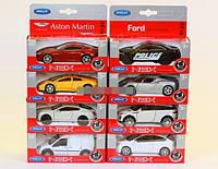 Машинка металл 1:38 8 моделей WELLY