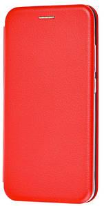 Чехол (книжка) премиум для Xiaomi Redmi Note 8красная