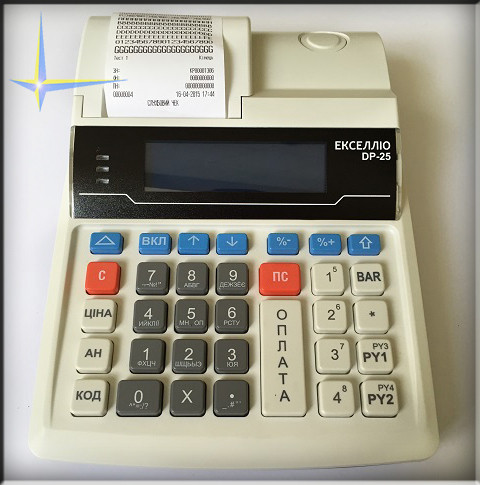 Кассовый аппарат ЭкселлиоDP‑25 Ethernet+GPRS