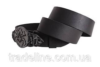 Мужской кожаный ремень Dovhani BLX49139664 120 см Черный, фото 3