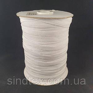 Бельевая резинка 8 мм цвет Белый 100 м (улучшенное качество)