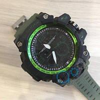 Casio G-Shock GG-1000 Black-Green-Militari Wristband