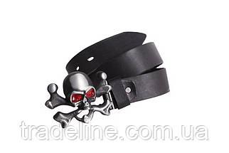 Мужской кожаный ремень Dovhani BLX49142667 120 см Черный, фото 2