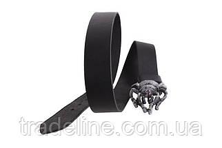 Мужской кожаный ремень Dovhani BLX49152675 120 см Черный, фото 3