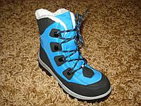 Ботинки фирменные  Quechua  Forclaz snow 200 голубые (30/31/32/33/34/35/36/37/38)