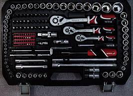 Професійний набір інструментів 1/4, 3/8, 1/2 216 ел. Yato YT-38841, фото 3