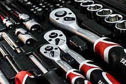 Професійний набір інструментів 1/4, 3/8, 1/2 216 ел. Yato YT-38841, фото 2