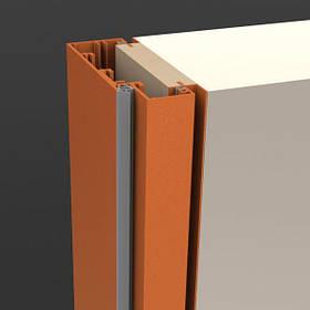Комплект дверной коробки скрытого монтажа 2100 мм