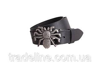 Мужской кожаный ремень Dovhani BLX49160681 120 см Черный, фото 3