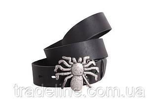 Мужской кожаный ремень Dovhani BLX49160681 120 см Черный, фото 2