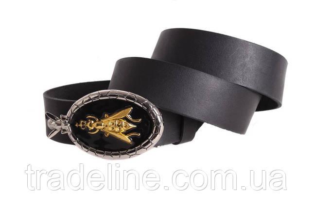 Мужской кожаный ремень Dovhani blx90266688 120 см Черный, фото 2