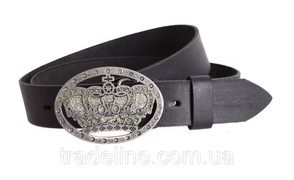 Мужской кожаный ремень Dovhani blx90267689 120 см Черный