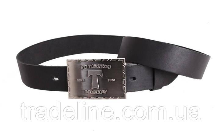 Мужской кожаный ремень Dovhani blx90281699 120 см Черный, фото 2