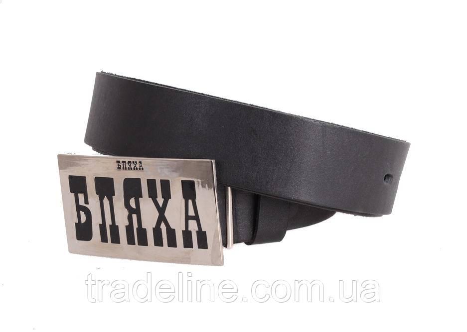 Мужской кожаный ремень Dovhani blx90286704 120 см Черный