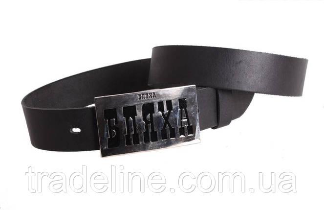 Мужской кожаный ремень Dovhani blx90286704 120 см Черный, фото 2