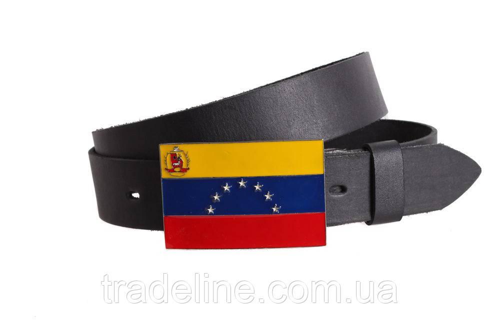 Мужской кожаный ремень Dovhani blx90298708 120 см Черный