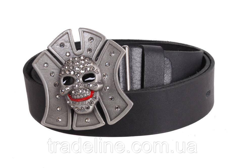 Мужской кожаный ремень Dovhani blx90338742 120 см Черный