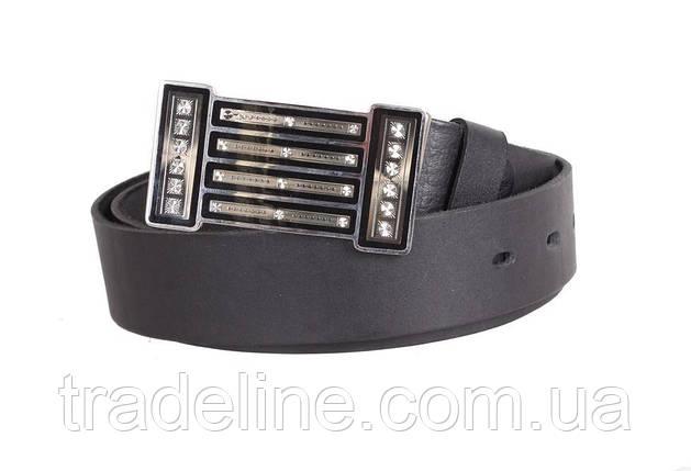 Женский кожаный ремень Dovhani blx903289801 115-125 см Черный, фото 2