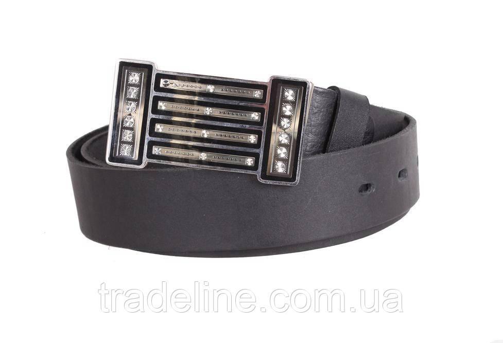 Женский кожаный ремень Dovhani blx903289801 115-125 см Черный