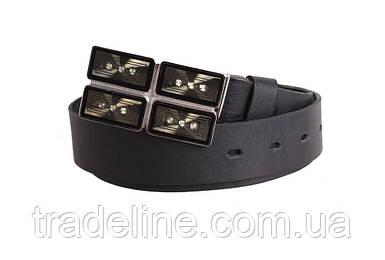 Женский кожаный ремень Dovhani blx90291803 115-125 см Черный