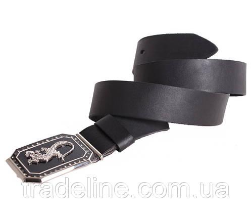 Женский кожаный ремень Dovhani BLX2501-39805 115-125 см Черный, фото 2