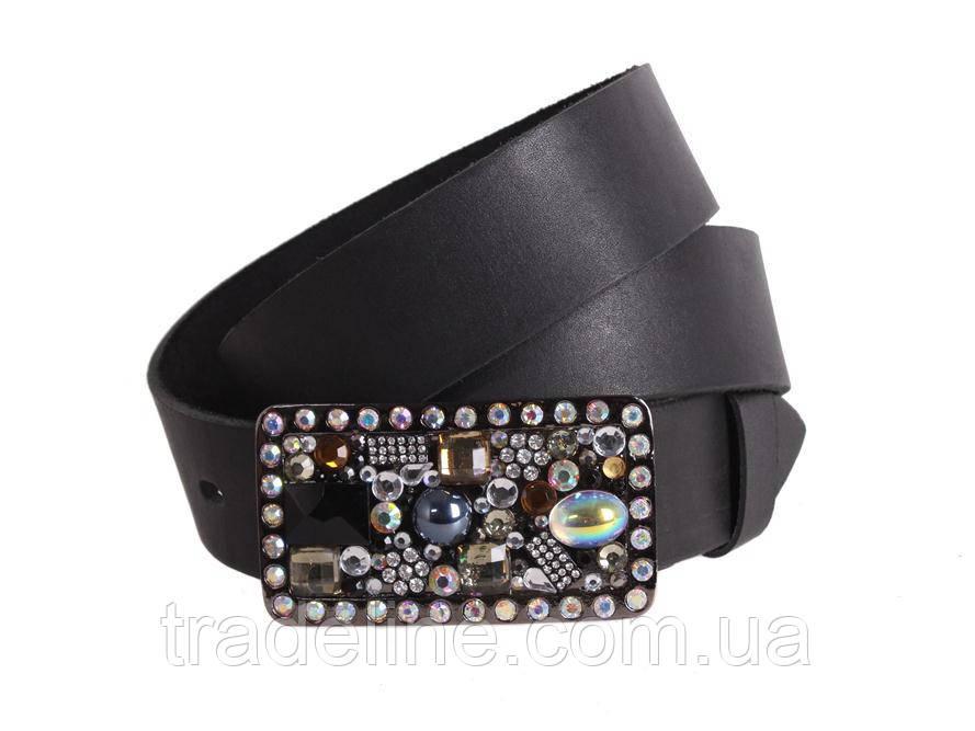 Женский кожаный ремень Dovhani blx90288808 115-125 см Черный