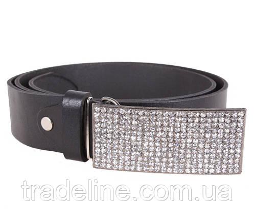 Женский кожаный ремень Dovhani UKK712-18835 115-125 см Черный, фото 2