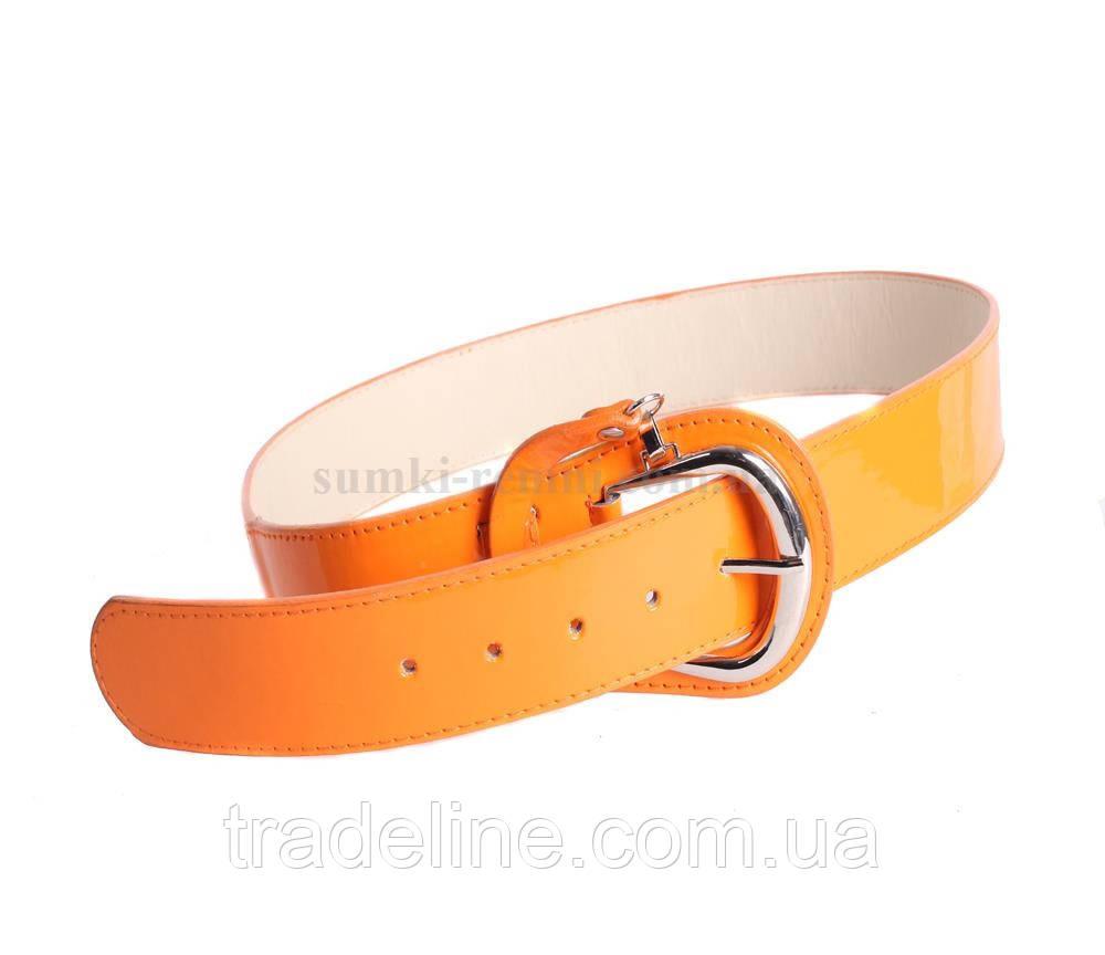 Женский ремень Dovhani COL769-131863 115 см Оранжевый