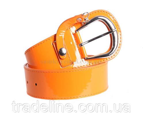Женский ремень Dovhani COL769-131863 115 см Оранжевый, фото 2