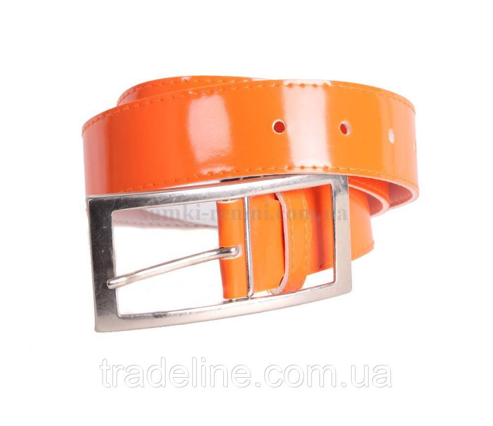Женский ремень Dovhani COL769-136866 115 см Оранжевый