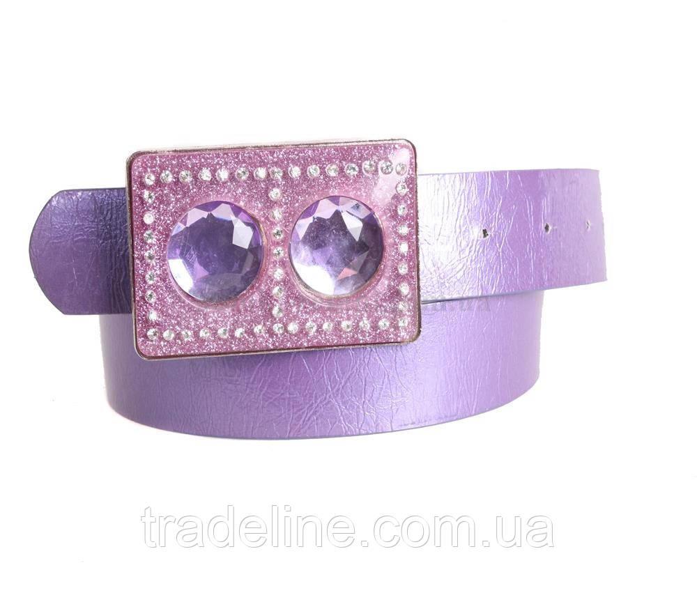 Женский ремень Dovhani COL769-138868 115 см Фиолетовый