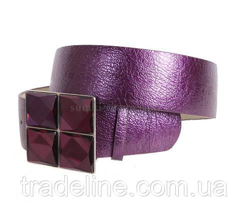 Женский ремень Dovhani COL769-143873 115 см Фиолетовый, фото 2