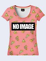 Женская футболка Нет изображения