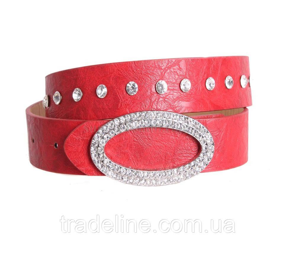 Женский ремень Dovhani COL769-160883 115 см Красный