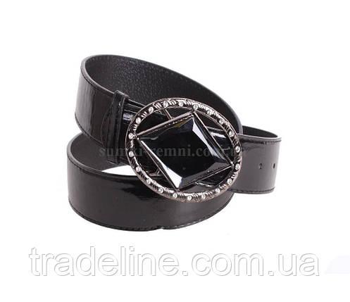 Женский ремень Dovhani COL769-166887 115 см Черный, фото 2