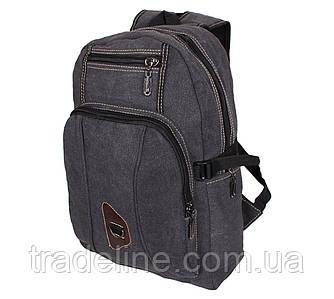 Рюкзак мужской текстильный Dovhani 303333-2228Black Черный