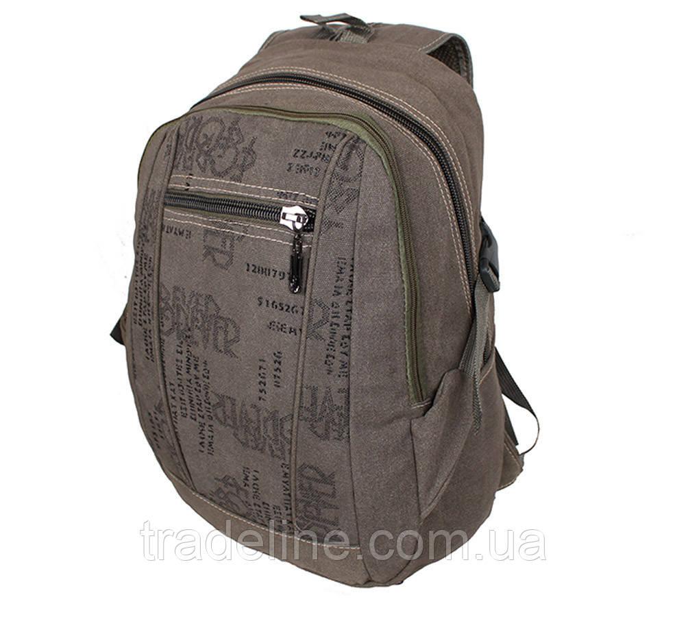 Рюкзак мужской текстильный Dovhani 303362-2231Khaki Хаки