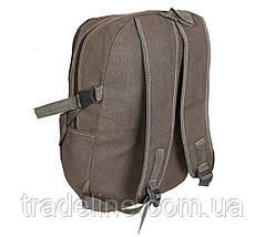 Рюкзак мужской текстильный Dovhani 303362-2231Khaki Хаки, фото 2