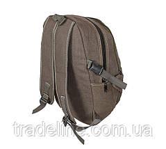 Рюкзак мужской текстильный Dovhani 303362-2231Khaki Хаки, фото 3