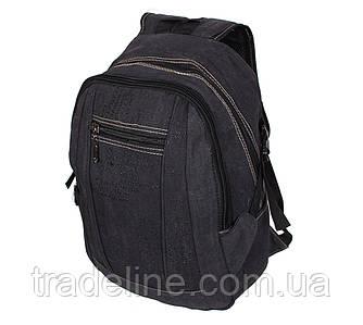 Рюкзак мужской текстильный Dovhani 303362-3232Black Черный