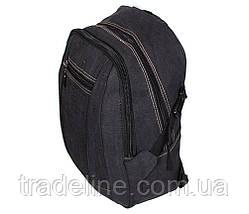 Рюкзак мужской текстильный Dovhani 303362-3232Black Черный, фото 2