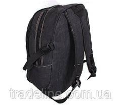 Рюкзак мужской текстильный Dovhani 303362-3232Black Черный, фото 3