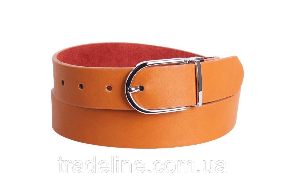 Женский ремень Dovhani ZZ230742-555 115 см Рыжий