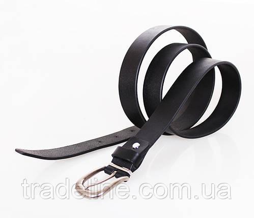 Женский кожаный ремень Dovhani MW682499-10-555 125 см Черный, фото 2