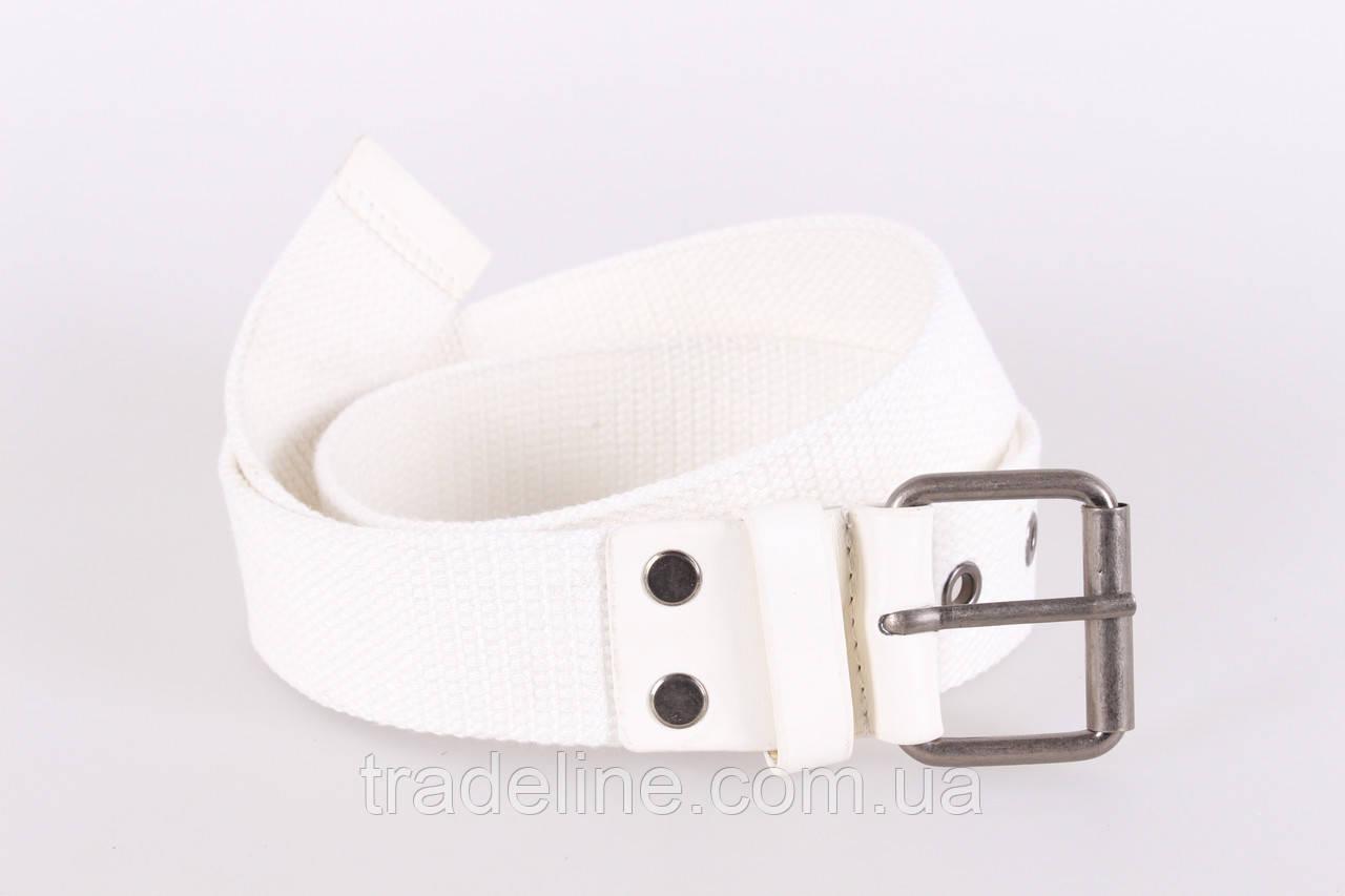 Мужской текстильный ремень Dovhani KZM15158-71-555 115 см Белый