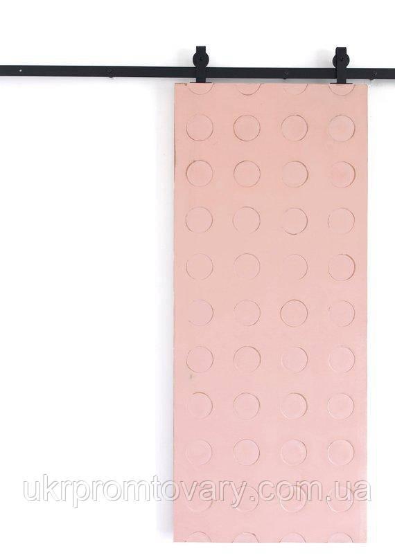 Амбарна двері LOFT DESIGN 6312, НАТУРАЛЬНЕ ДЕРЕВО, меблі Лофт Виробництво в Києві