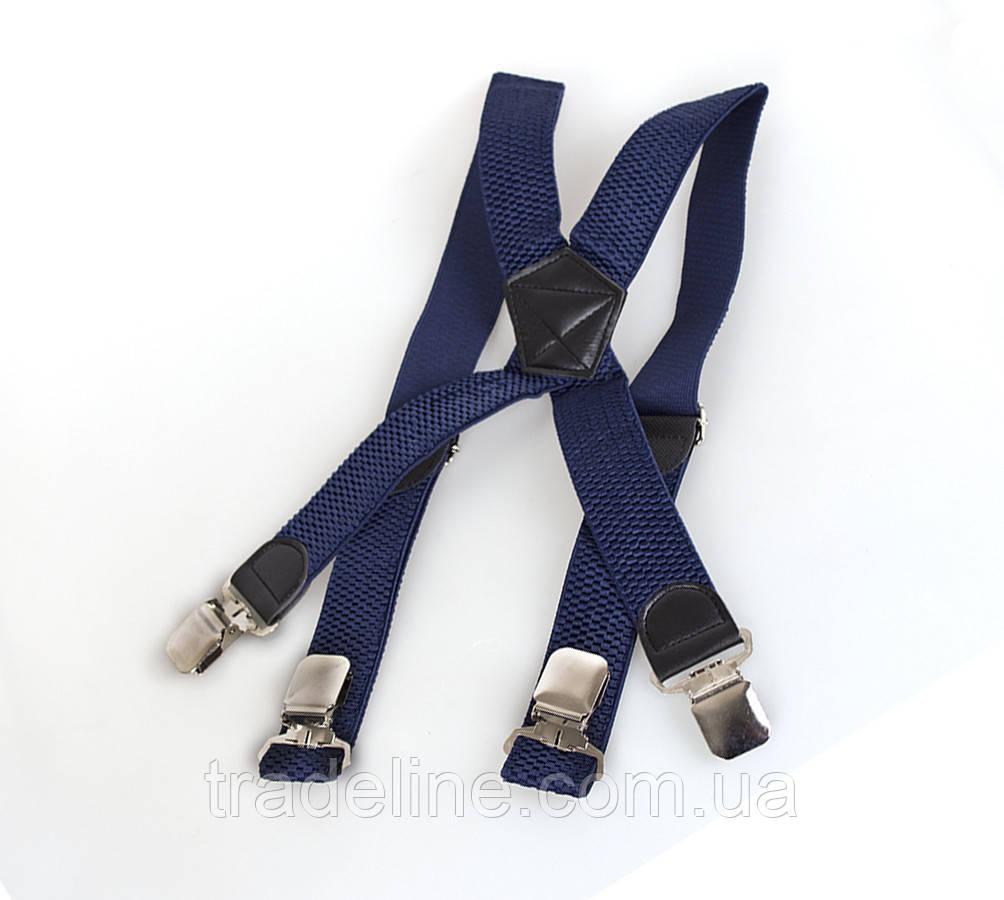 Подтяжки мужские Dovhani P003-3DBLUE-555 Синие